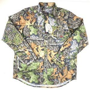 Under Armour Men's camouflage heat gear shirt Sz M